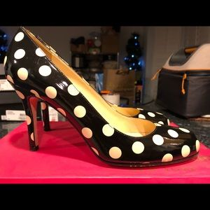 Like New...Kate Spade patent leather heels